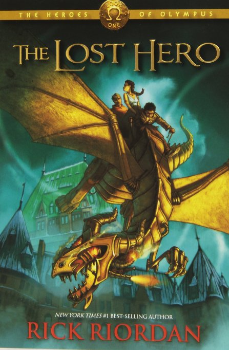 Fantasy, Mystery & Adventure Books for Tweens | 'The Lost Hero,' by Rick Riordan