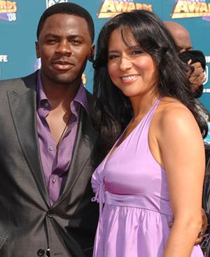 Derek Luke and wife Sofia