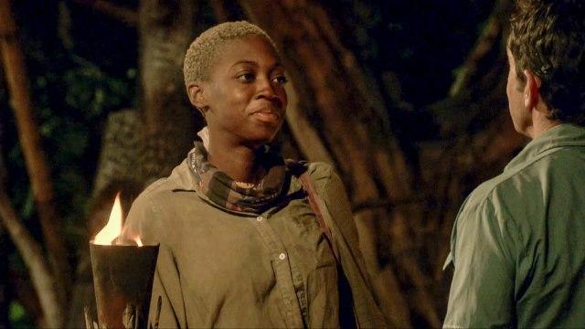 Desiree Afuye voted off Survivor: Ghost Island
