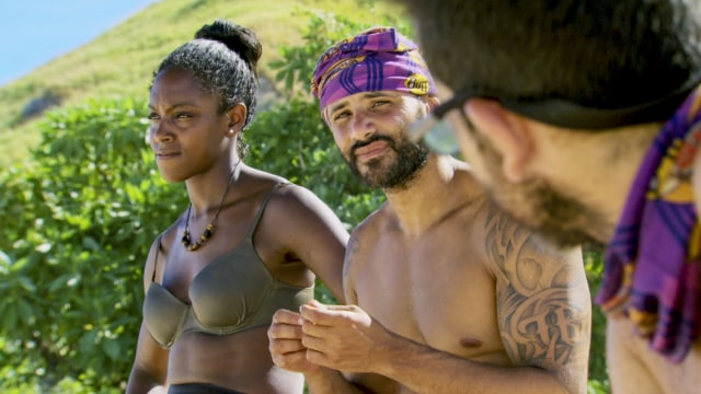 Desiree Williams and Joe Mena on Survivor: Heroes Vs. Healers Vs. Hustlers