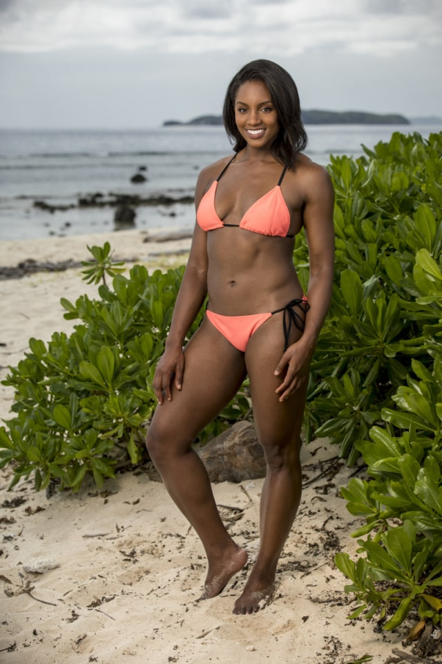 Desiree Williams cast photo for Survivor: Heroes Vs. Healers Vs. Hustlers