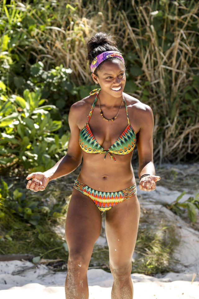 Desiree Williams on Survivor: Heroes Vs. Healers Vs. Hustlers