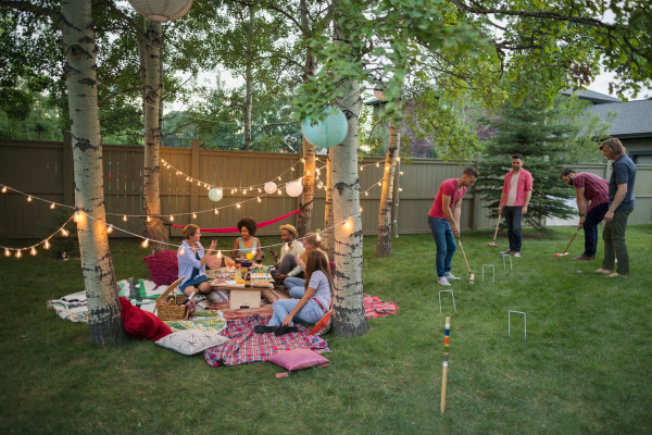 Night picnic