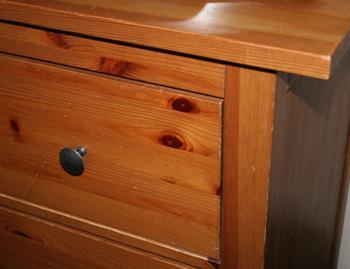 How to refinish a dresser