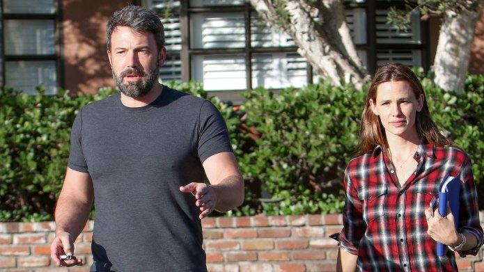 Ben Affleck and Jennifer Garner take