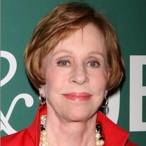Icon Carol Burnett receives major honor