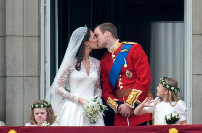 Prince William and Kate Middleton's wedding anniversary