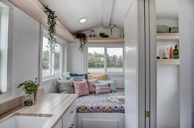 A Look Inside Some of the Most Glamorous Tiny Homes for Sale: the nugget