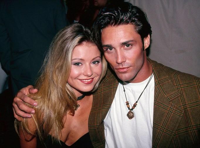 Kelly Ripa and Vincent Young