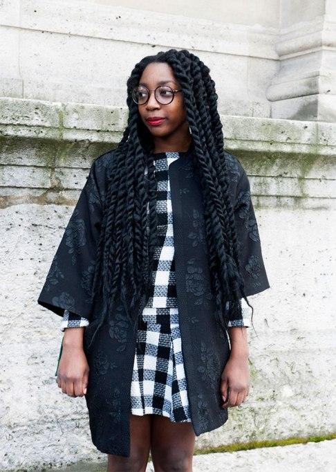 Standout Ways To Style Long Hair | Jumbo Twists