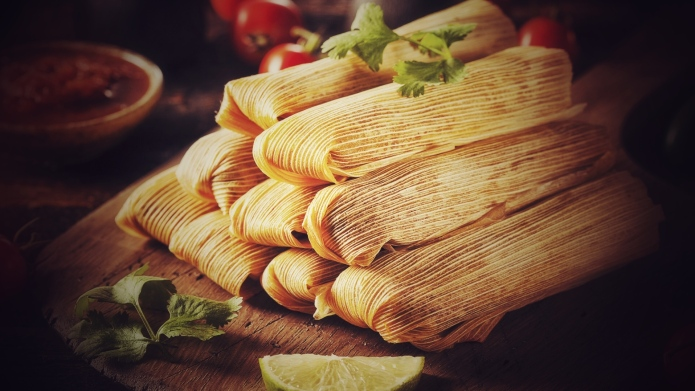 This Is My Tex-Mex Mom's Tamale