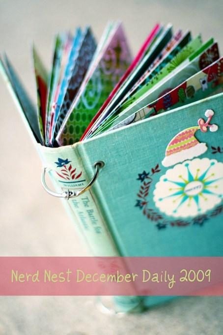 holiday card display book