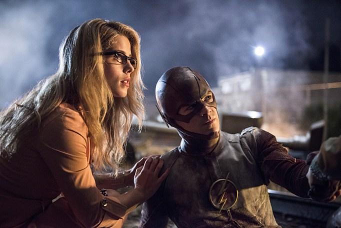 Felicty Smoak on The Flash