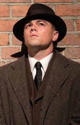 Leonardo DiCaprio as J. Edgar, in theaters Nov 9
