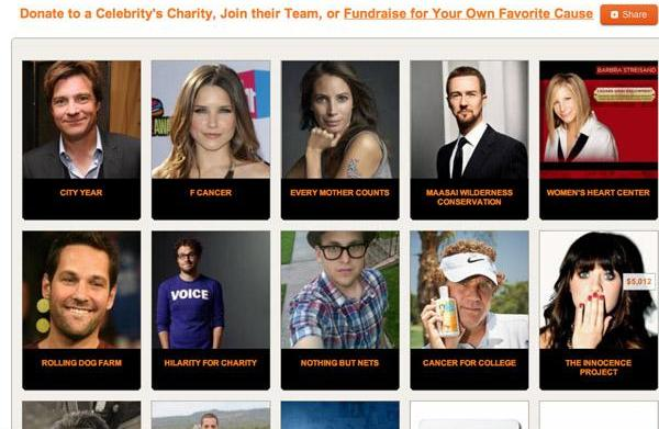 "Crowdrise lets Seth Rogen ""help charity"