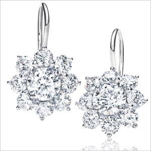 Mother's Day gift - Diamond earrings