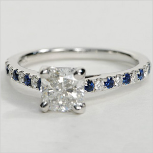 Diamond ring from Blue Nile
