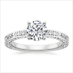 Diamond ring from Brilliant Earth