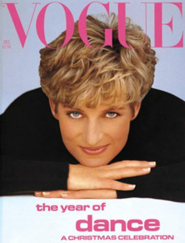 Princess Diana on Vogue cover 1991