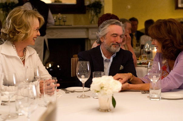 Diane Keaton, Robert de Niro, Susan Sarandon in The Big Wedding