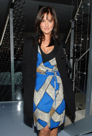 Minka Kelly shined in a color-block stunner in 2008.