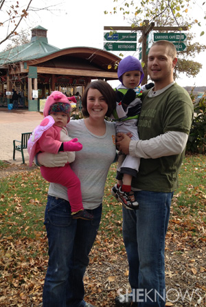Aubrey Turley and family