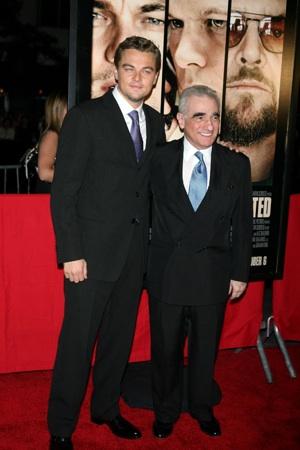 Leonard DiCaprio and Martin Scorsese