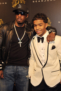 Pdiddy and son Justin