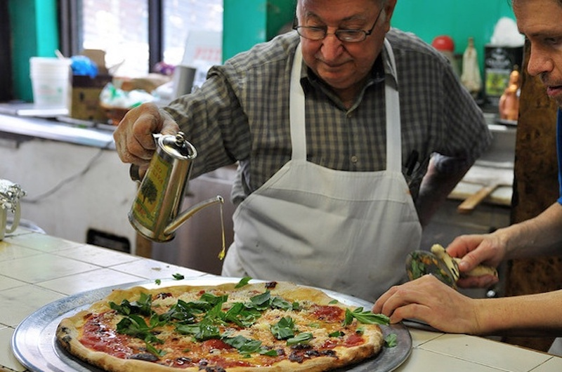 Difara pizza NYC Brooklyn