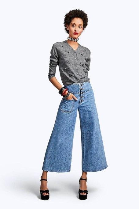 Cool Denim For Fall: Retro wide leg | Fall Fashion 2017