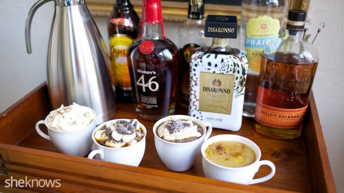 DIY spiked coffee bar will make