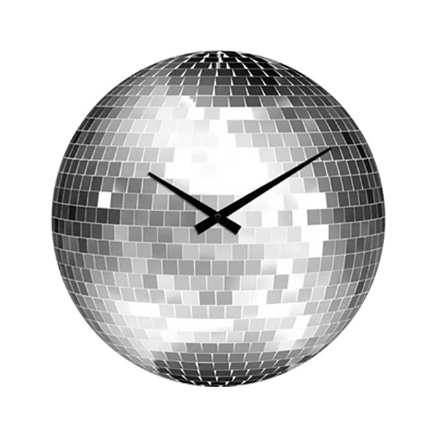1970s-disco-ball-clock