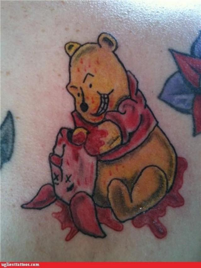 disney tattoo winnie