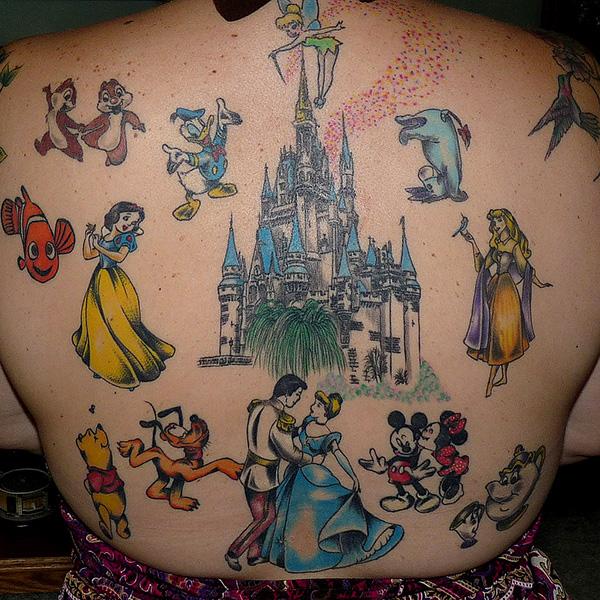 Disney Tattoo fails