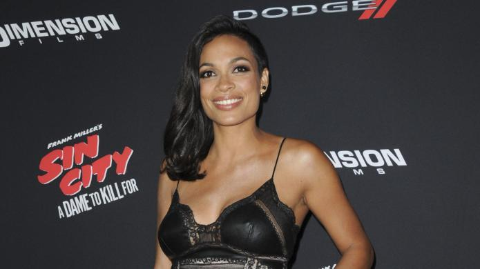 Rosario Dawson was terrified of becoming