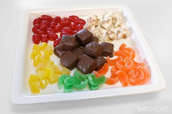 Candy kekbabs -- ingredients