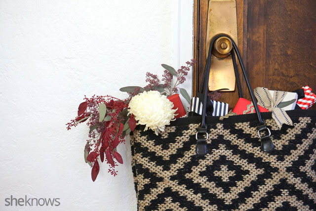 DIY an oversized tote: Finished 2