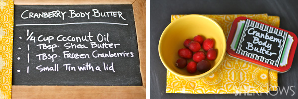 DIY Cranberry Body Butter | SheKnows.com