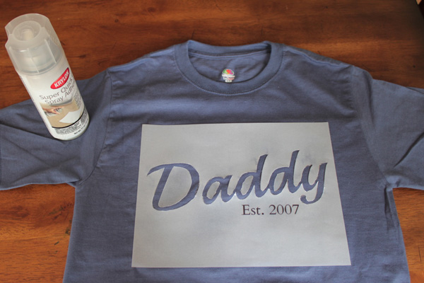 DIY Father's Day Shirt