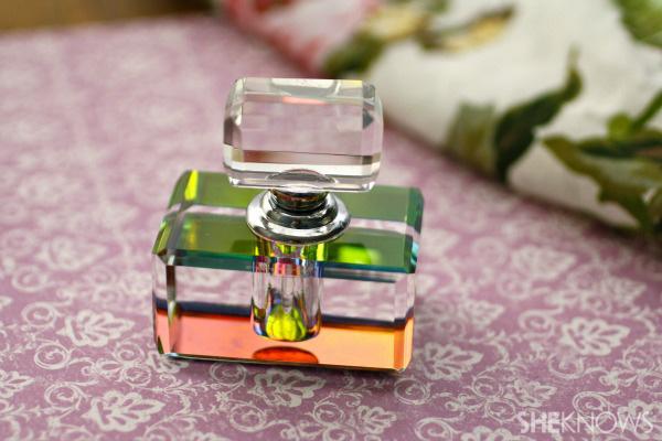 DIY fragrance made with vodka
