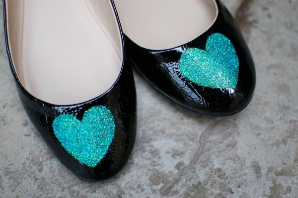 Diy Glitter Shoes Sheknows