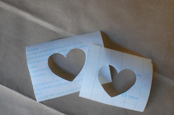 DIY Glitter flats -- contact paper