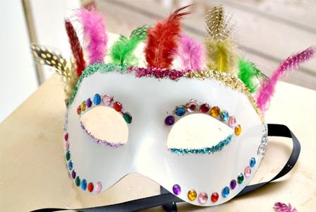 doy masquerade mask