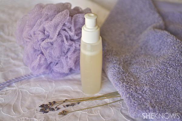 Moisturizing Rosemary Lavender Shower Gel