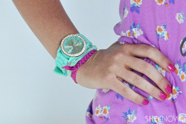 DIY ponytail holders | SheKnows.com