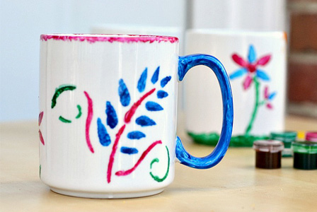 Diy Stencil Mug