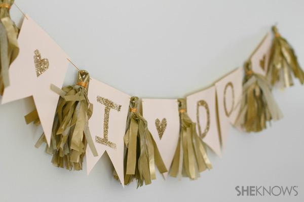 Diy Wedding Banner