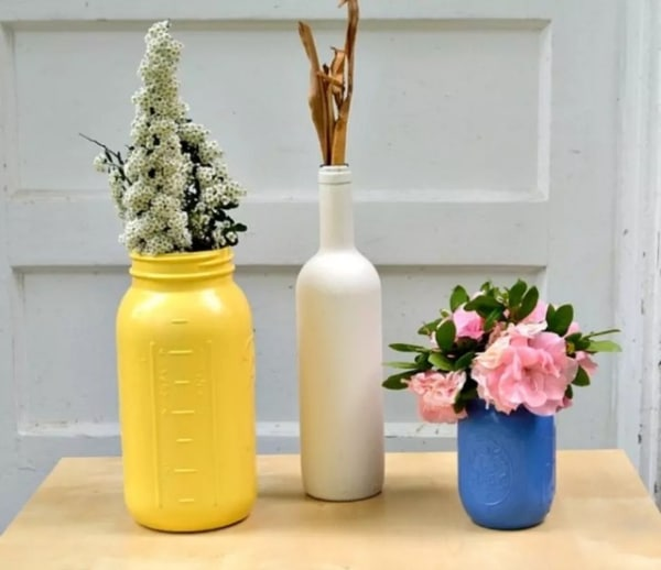 Diy Guide To Spray Painting Mason Jars