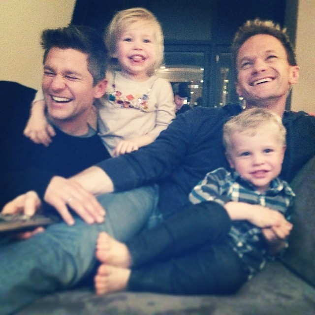 Neil Patrick Harris, David Burtka and their twins are #familygoals