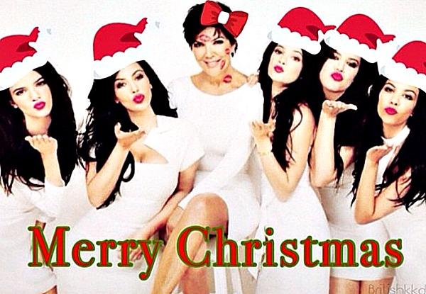 The Kardashian's Christmas card